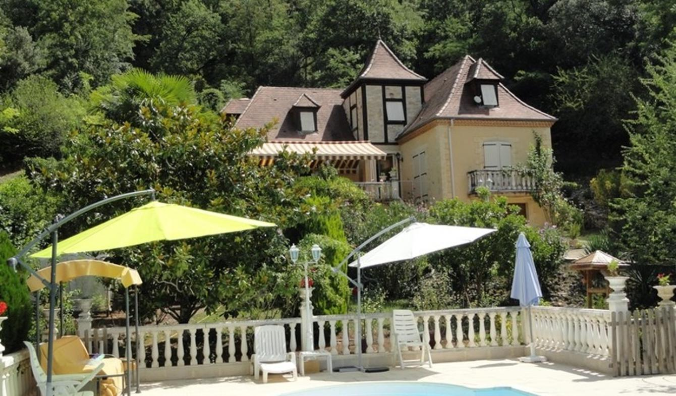 House with pool and garden La Roque-Gageac