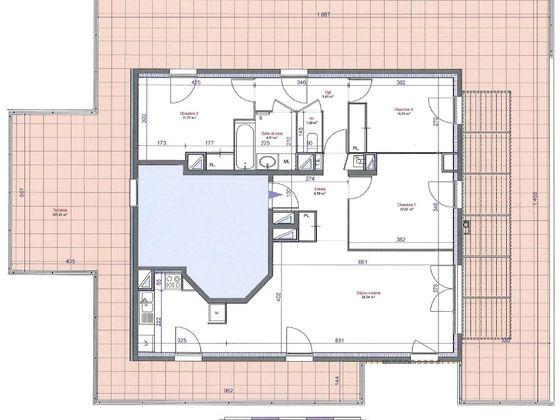 vente Appartement 4 pièces 88,32 m2 Villeurbanne