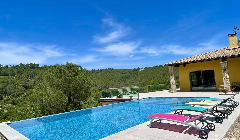 Maison avec piscine et terrasse Cabasse