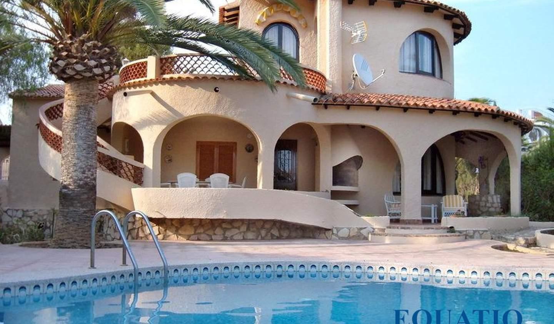Villa avec piscine et terrasse Calp