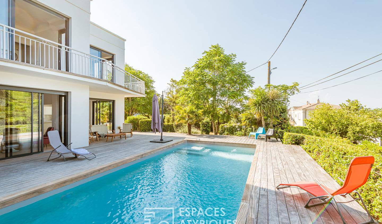 Maison avec terrasse Latresne