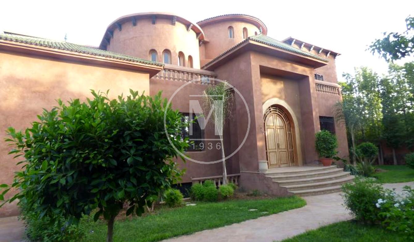Villa avec piscine et terrasse Médina