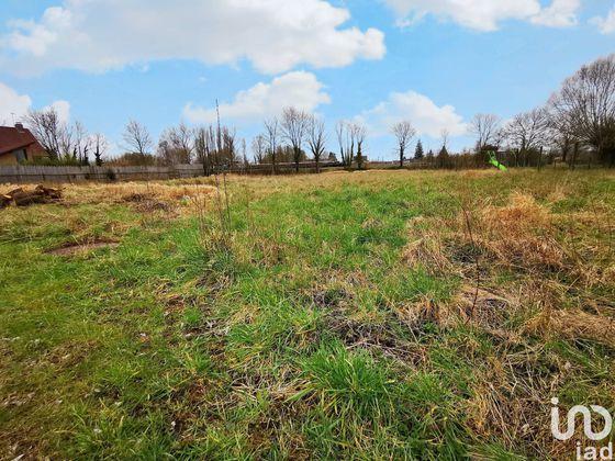 Vente terrain 1221 m2