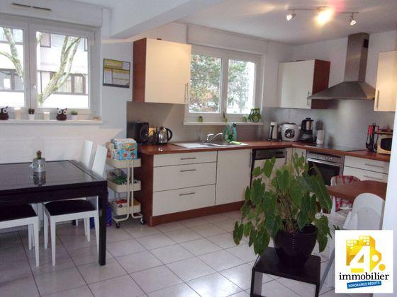 vente Appartement 3 pièces 73 m2 Illzach