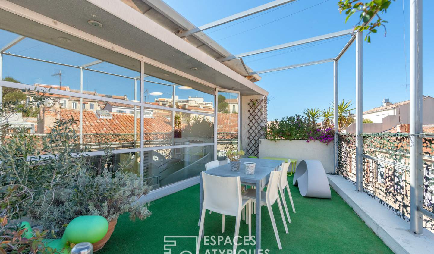 House with terrace Marseille 7th