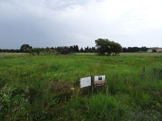 Vente terrain 1706 m2