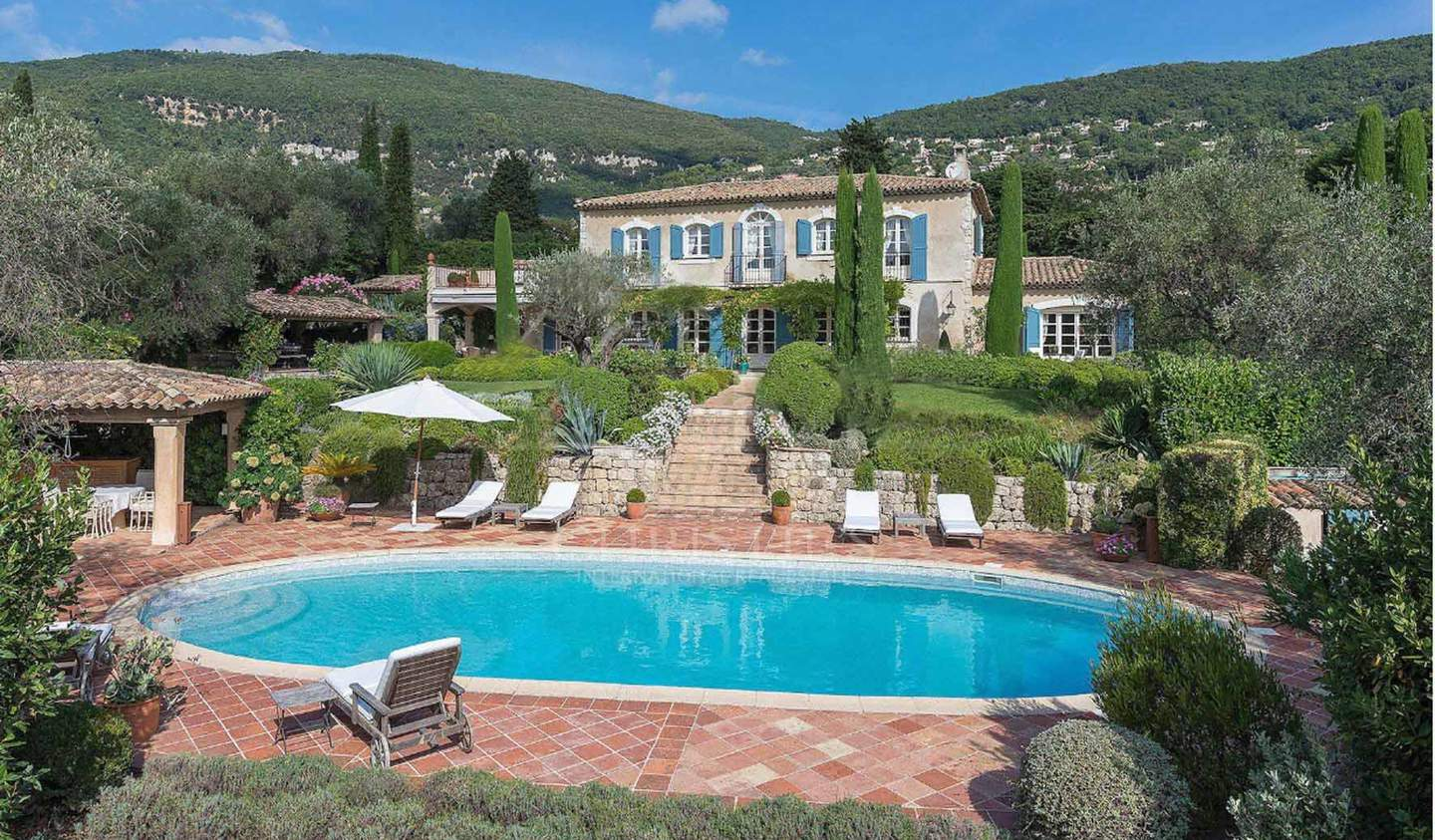 House with pool Châteauneuf-Grasse
