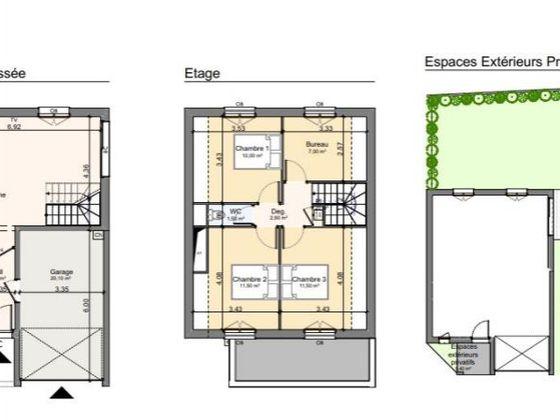 Vente maison 4 pièces 85,3 m2