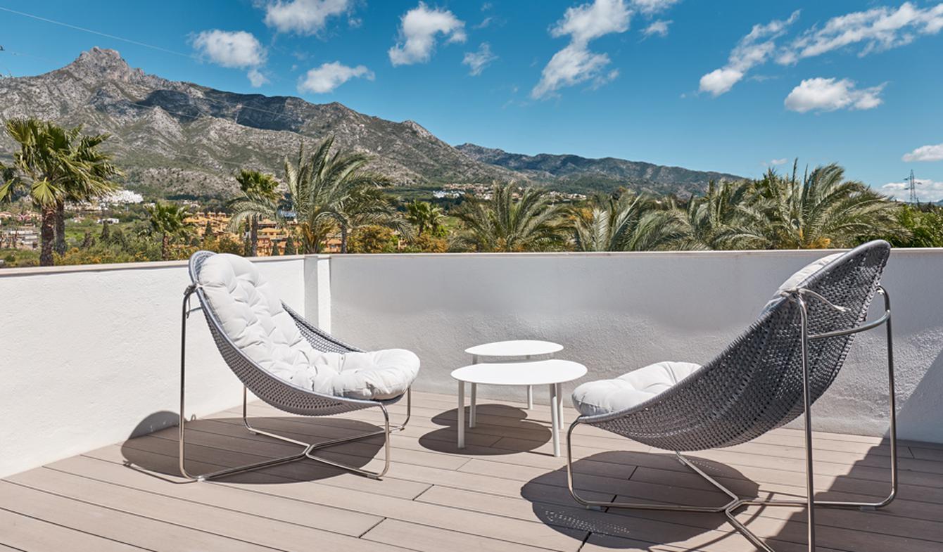 Appartement contemporain avec terrasse Marbella