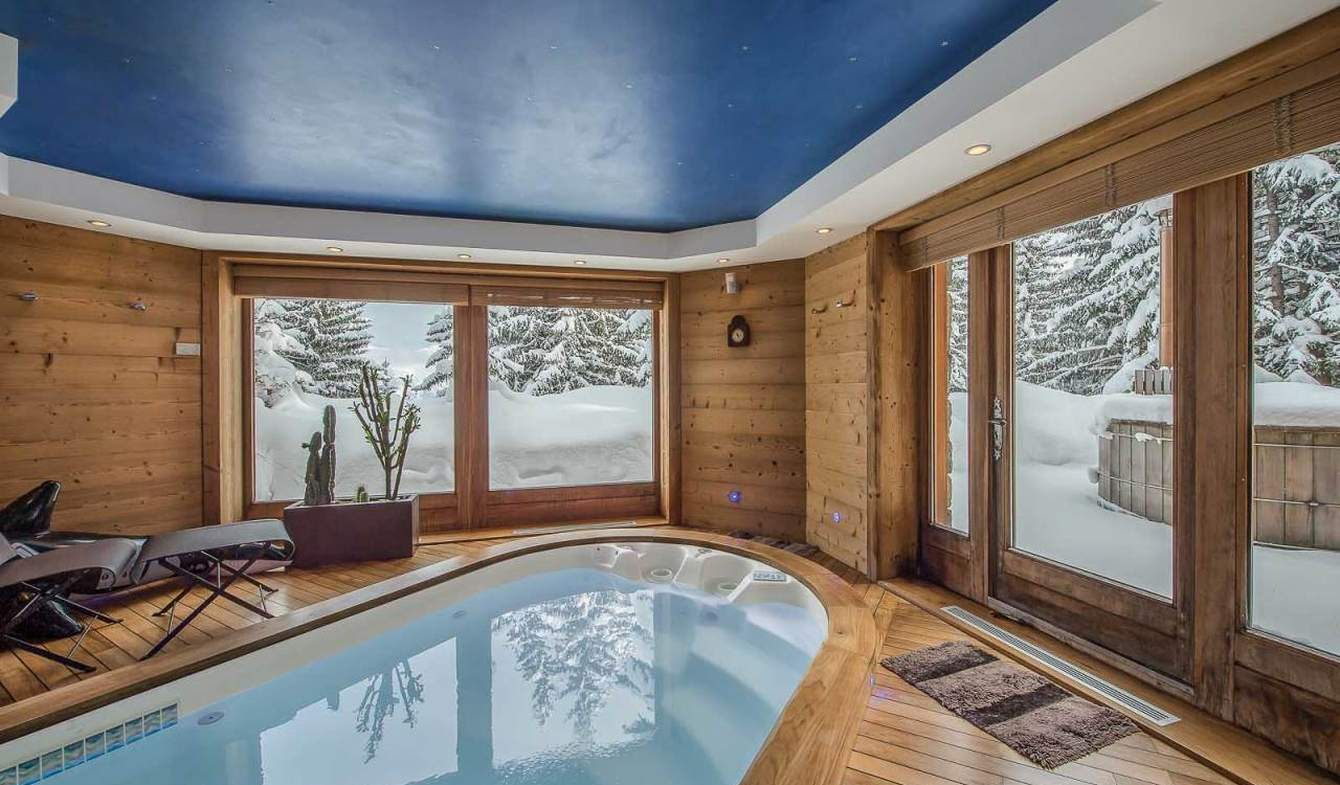 Chalet with terrace Courchevel