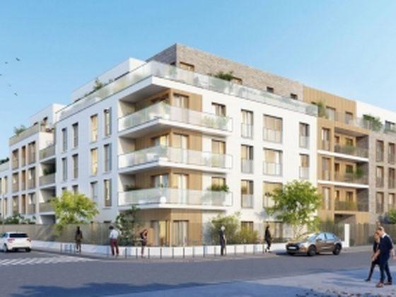 Vente appartement 2 pièces 45,29 m2