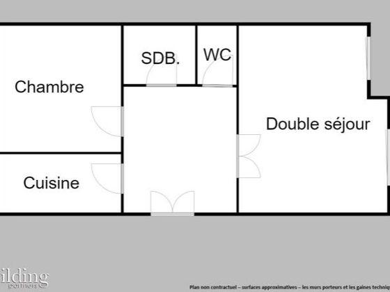 Vente appartement 3 pièces 70,04 m2