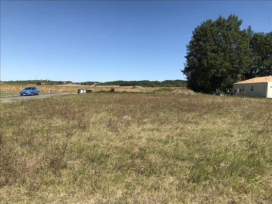 Vente terrain 1687 m2