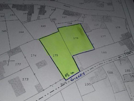 Vente terrain 1870 m2