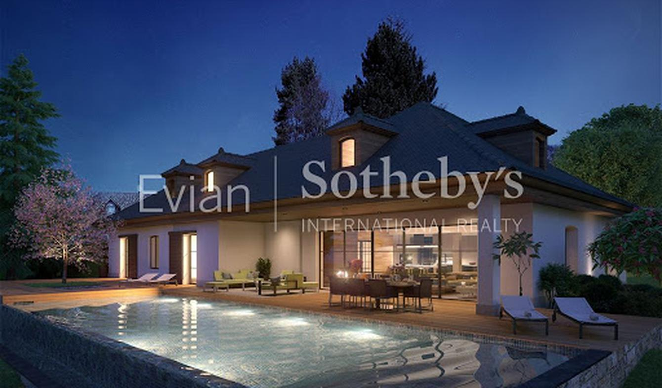 Villa with pool and terrace Cranves-Sales