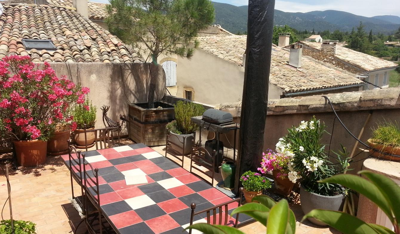 Maison avec terrasse Lourmarin