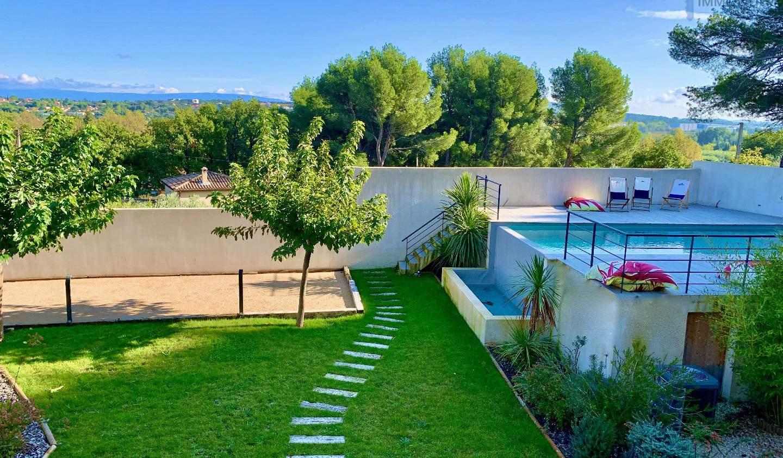 Maison avec piscine et terrasse Châteauneuf-du-Pape