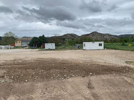 Location terrain à bâtir 1100 m2