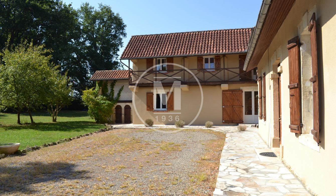 House with pool Marciac
