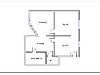 Appartement 3 pièces 45,22 m2