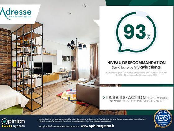 Vente appartement 3 pièces 56,57 m2