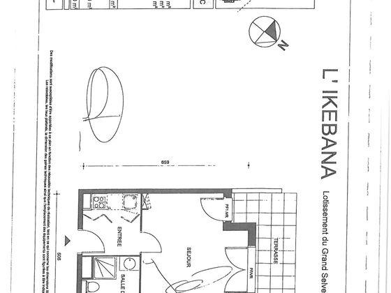Location studio 29,49 m2