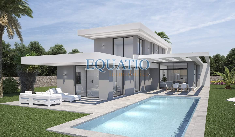 Villa avec piscine et terrasse Xàbia