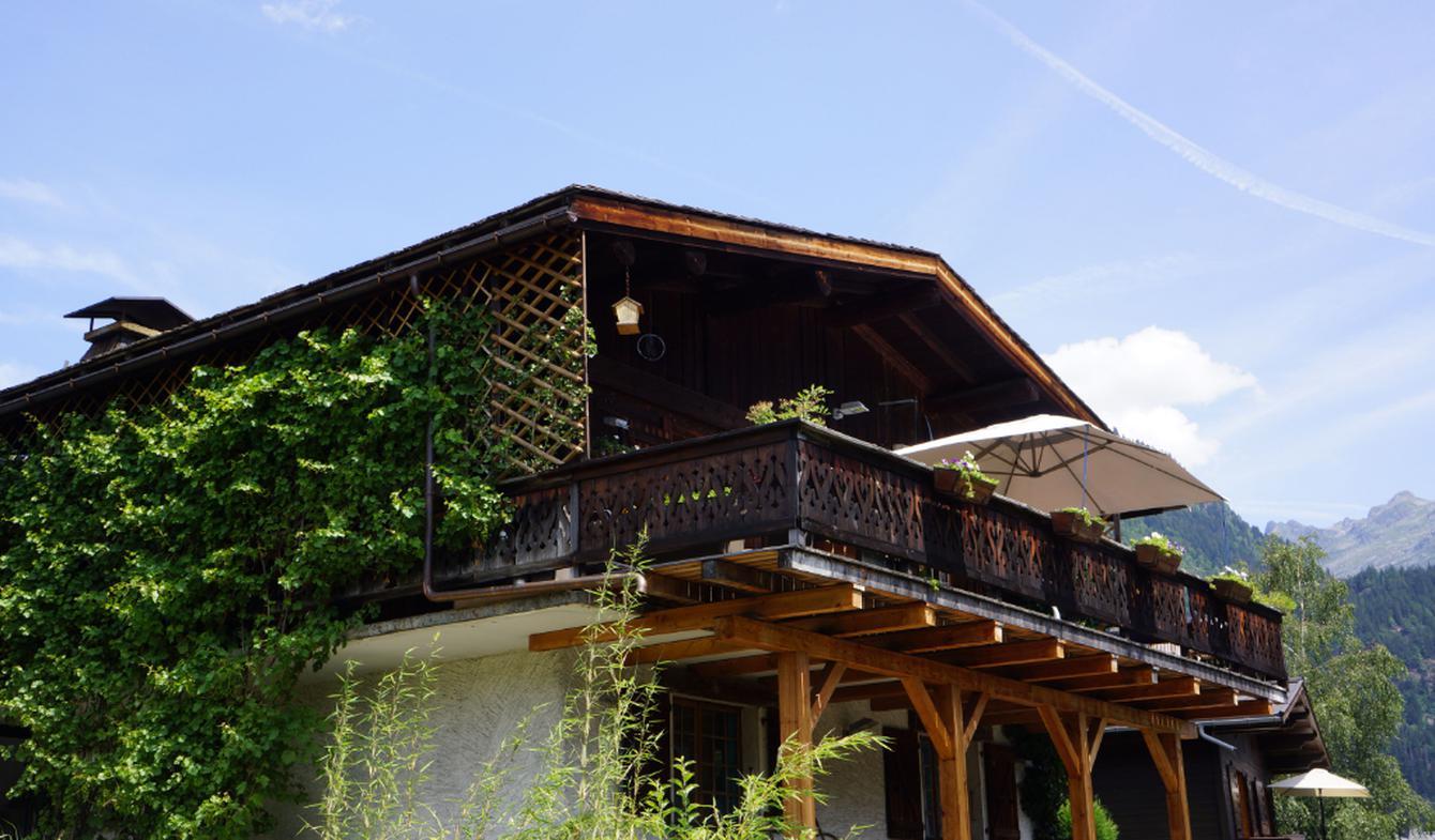 Chalet avec terrasse Servoz