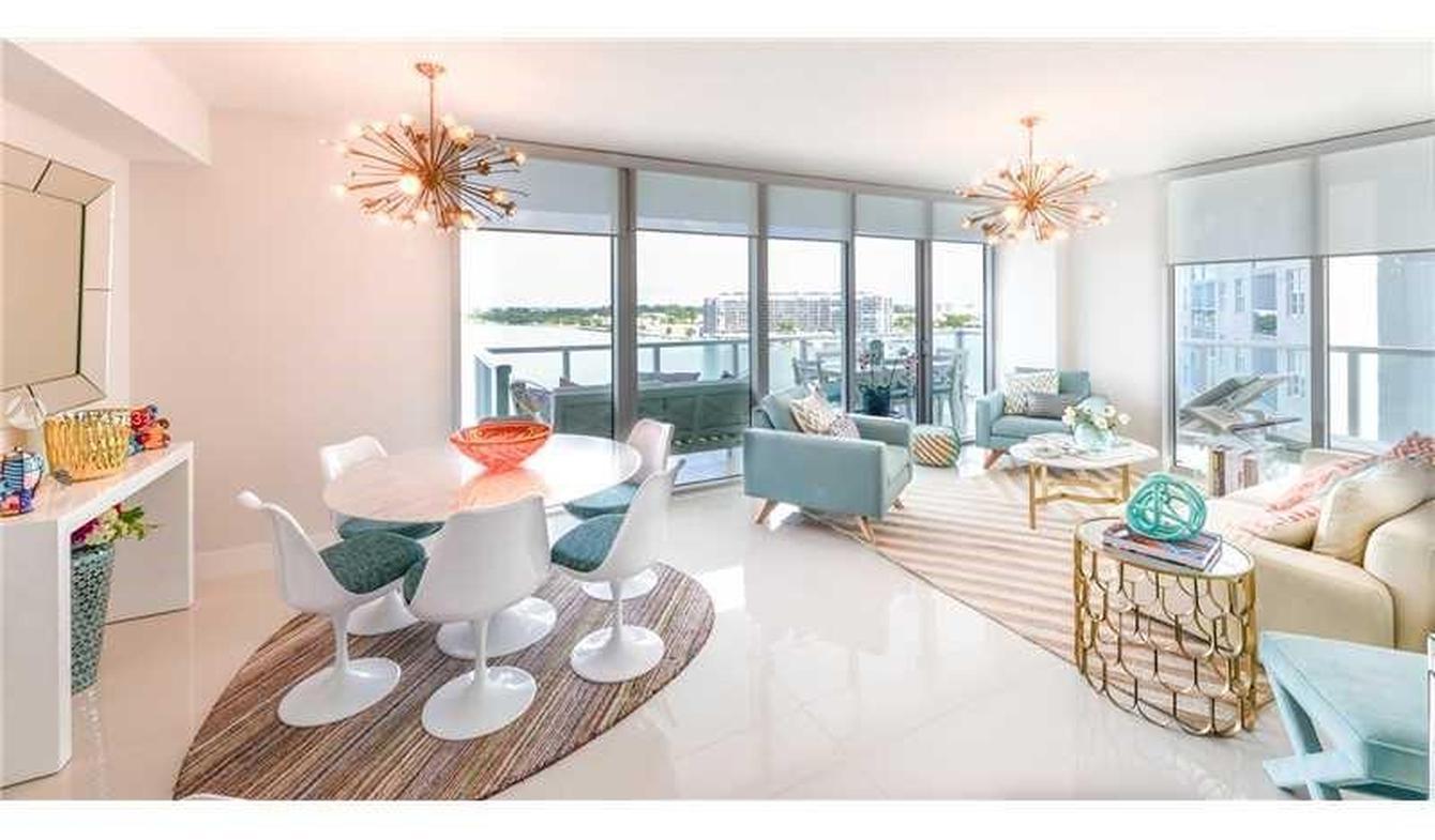 Appartement contemporain avec terrasse et piscine Miami Beach