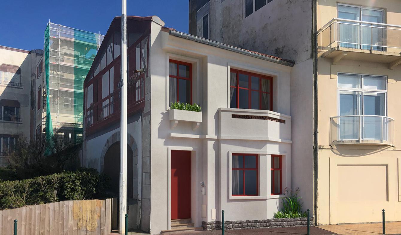 Maison en bord de mer avec terrasse Biarritz