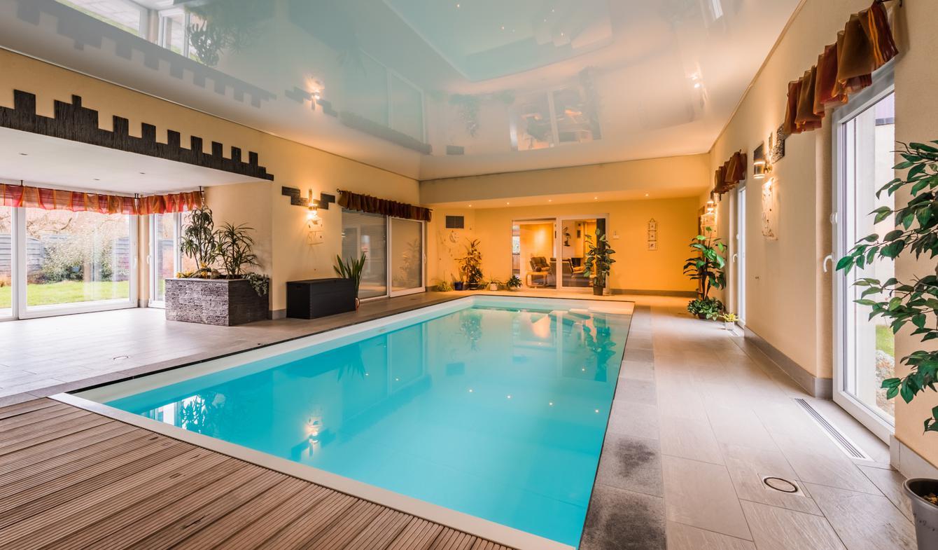 Maison avec piscine et terrasse Furchhausen