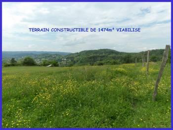 Terrain 1474 m2
