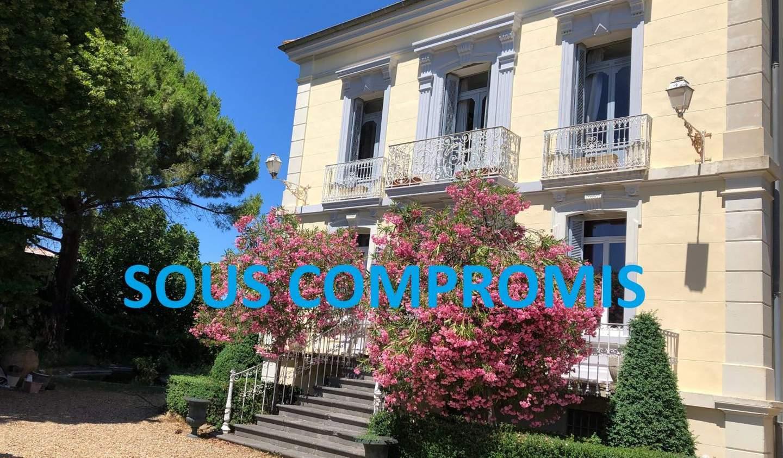 Maison avec piscine et terrasse Magalas