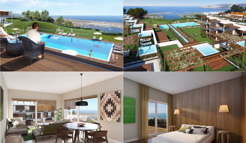 Apartment with terrace Nazaré