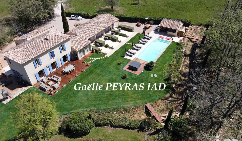 Maison avec piscine et terrasse Tourves