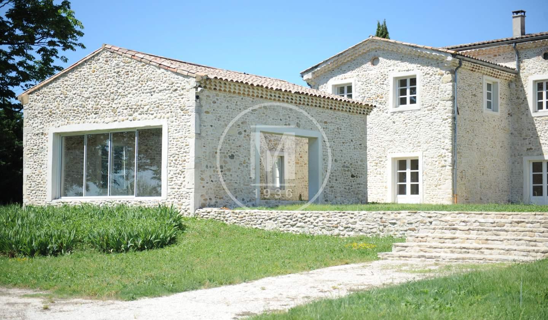 Maison avec piscine et terrasse Montelimar