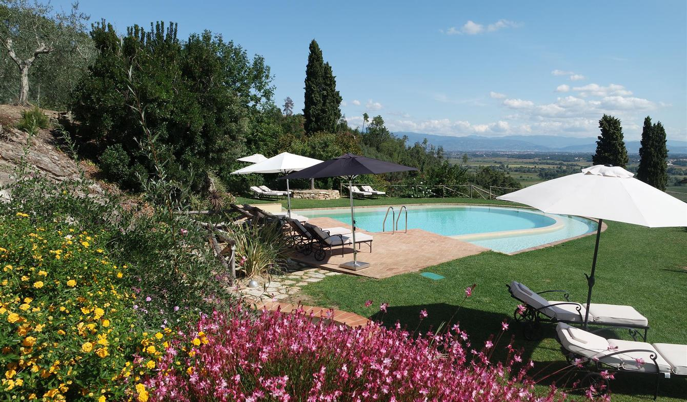 Villa with pool and terrace Capannori