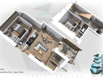 Appartement 4 pièces 71,96 m2