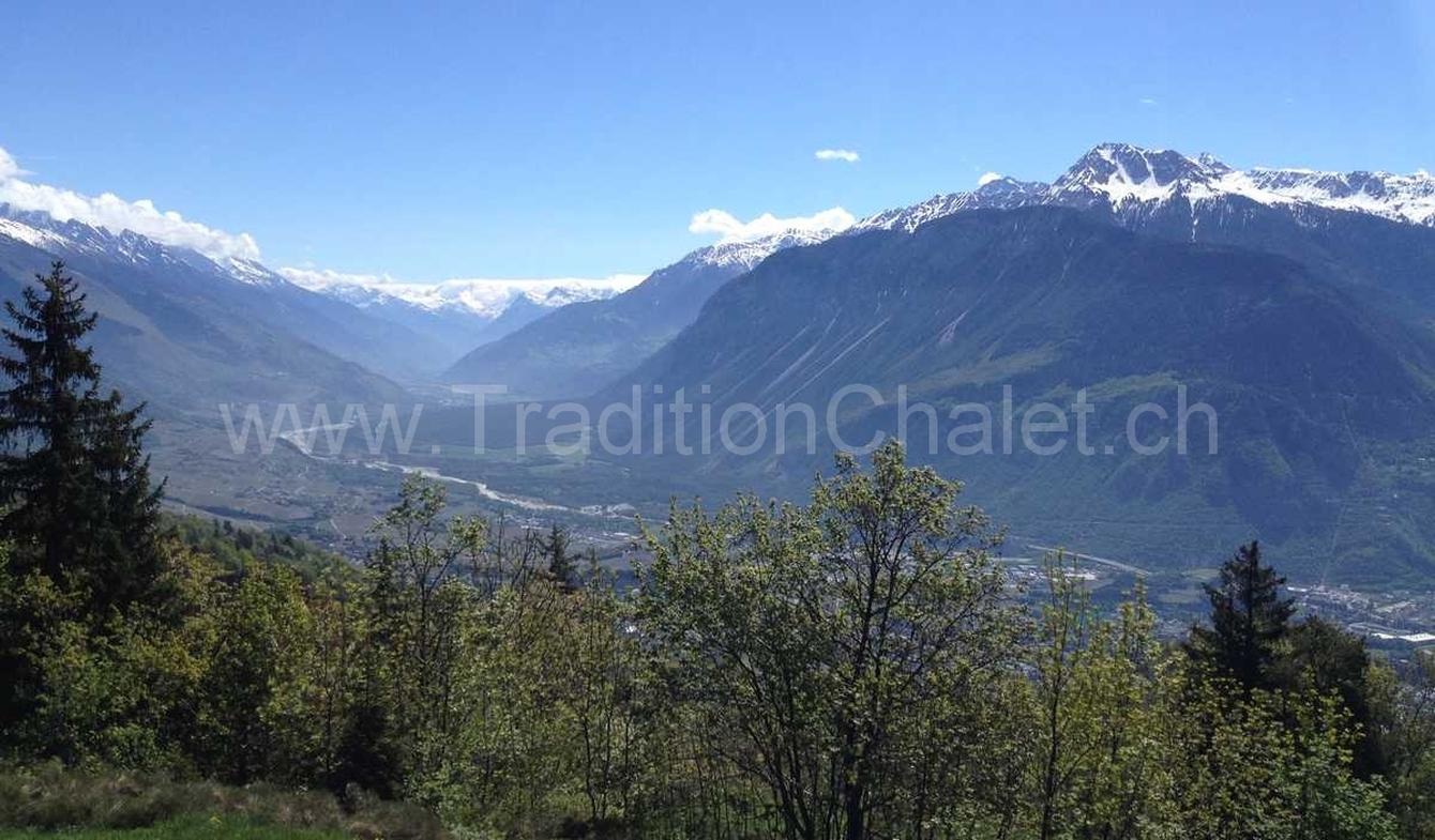Chalet with panoramic view Crans-Montana