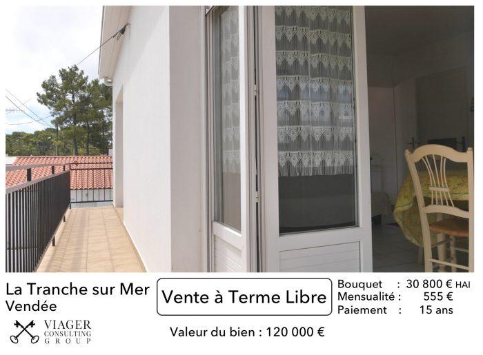 Vente Viager 3 Pieces 50 M 30 800 La Tranche Sur Mer 85