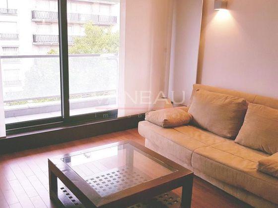 Location studio meublé 24,21 m2