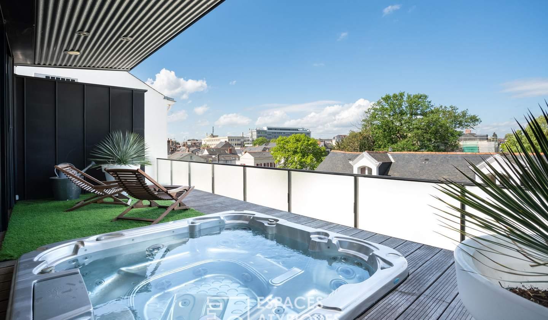 Maison avec piscine et terrasse Angers
