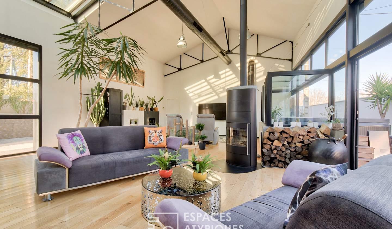 Maison avec terrasse Lons