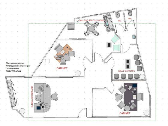 Location divers 1 pièce 80 m2