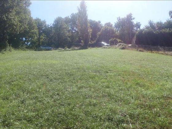 Vente terrain 1387 m2