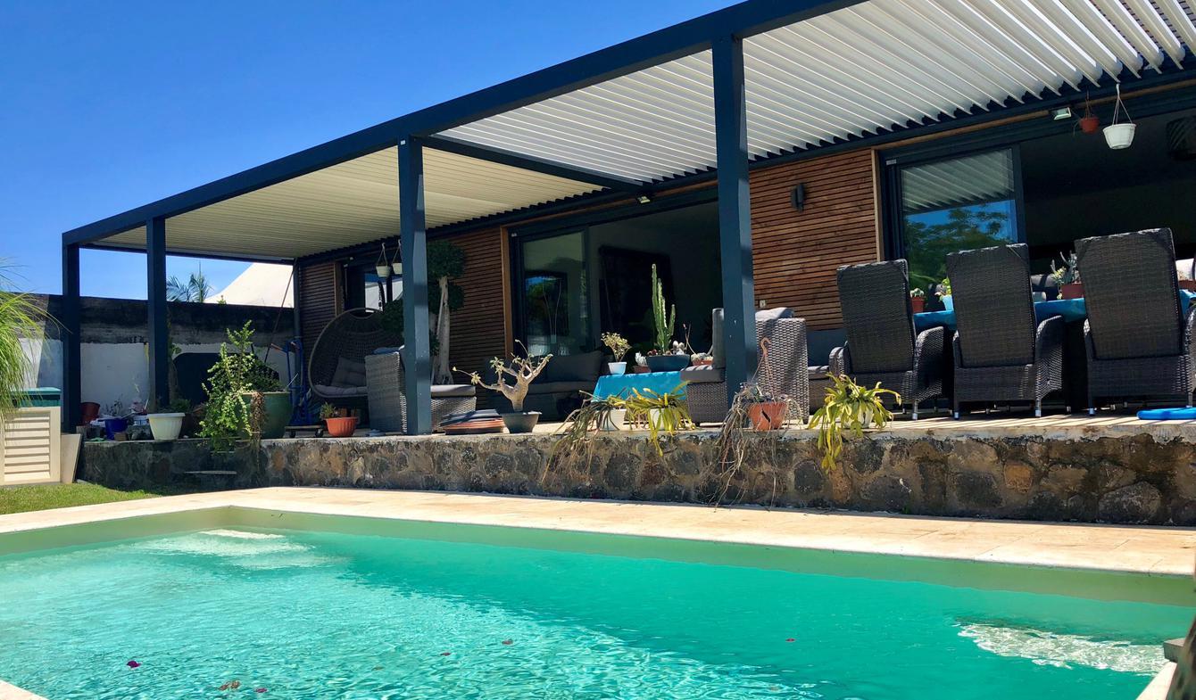 Villa avec piscine et terrasse Saint Pierre