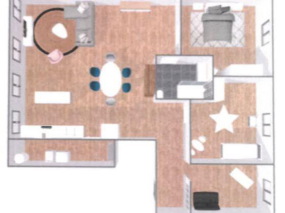Location appartement 4 pièces 112 m2
