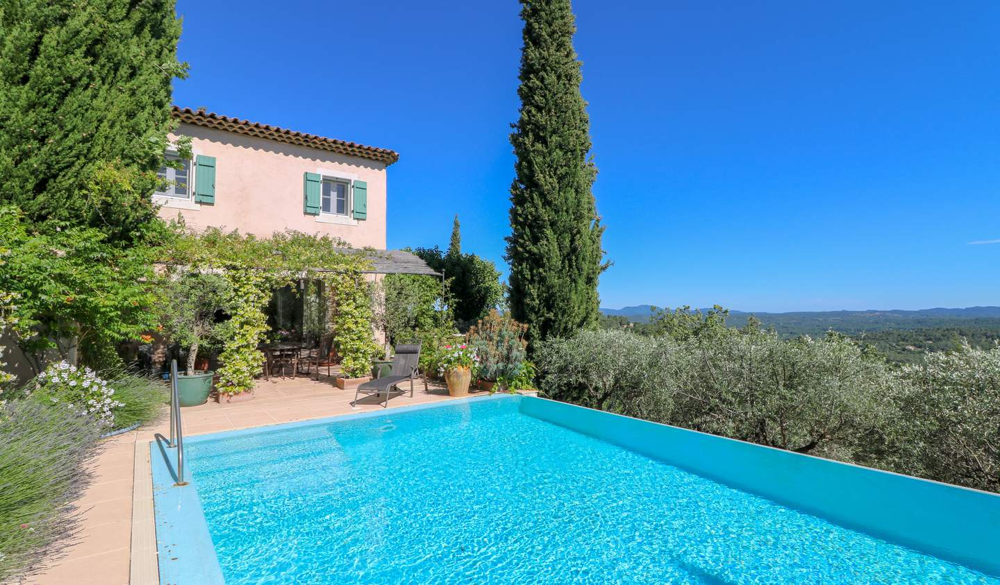 House with pool and garden Seillans