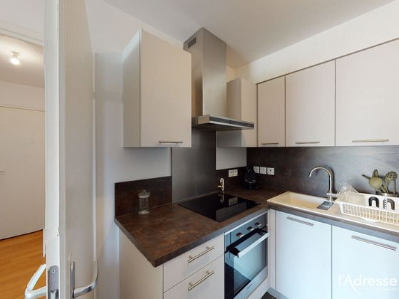 Location studio meublé 27,18 m2