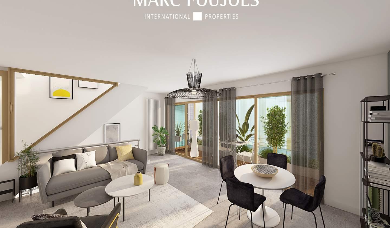 Apartment with terrace Paris 3rd